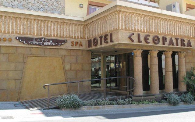 Отель Cleopatra Spa Hotel Испания, Льорет-де-Мар - 1 отзыв об отеле, цены и фото номеров - забронировать отель Cleopatra Spa Hotel онлайн вид на фасад