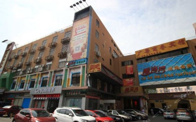 The Canton Business Hotel Шэньчжэнь вид на фасад