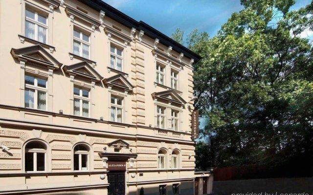 Hotel Alexander II вид на фасад
