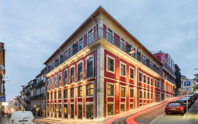 Отель Exe Almada Porto Порту вид на фасад