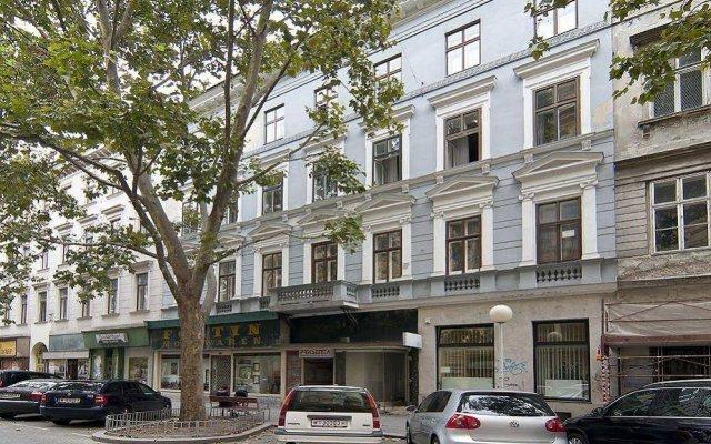 Отель Vienna - Praterstrasse Австрия, Вена - отзывы, цены и фото номеров - забронировать отель Vienna - Praterstrasse онлайн вид на фасад