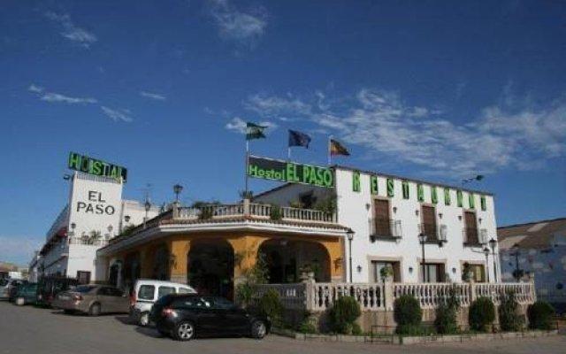 Отель Hostal Restaurante El Paso Испания, Байлен - отзывы, цены и фото номеров - забронировать отель Hostal Restaurante El Paso онлайн вид на фасад