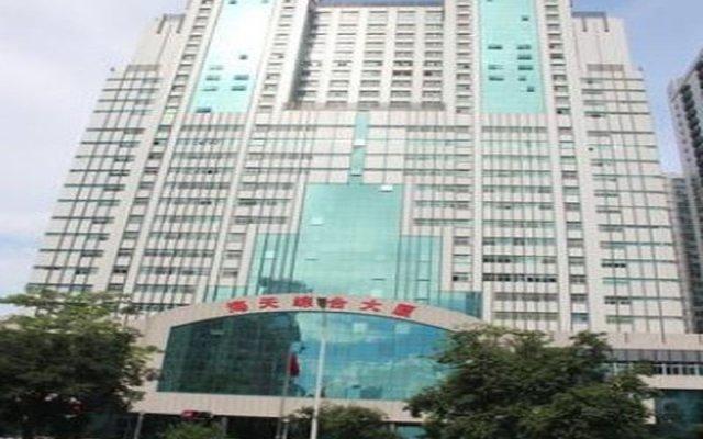 Shenzhen Haitian Hotel вид на фасад
