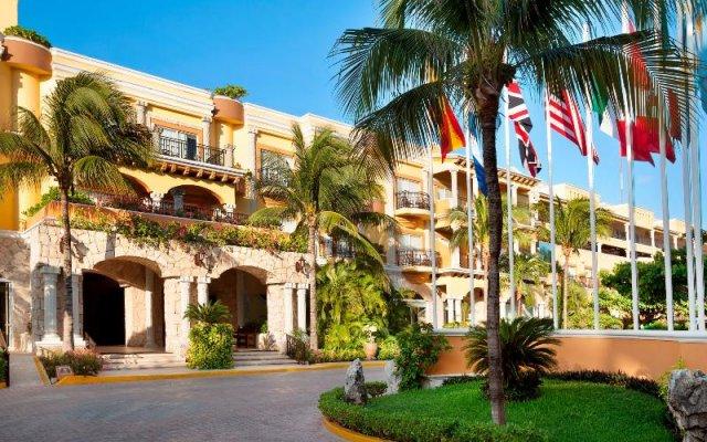 Отель Panama Jack Resorts Playa del Carmen – All-Inclusive Resort Плая-дель-Кармен вид на фасад