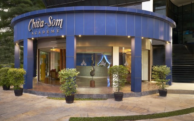 Chiva-Som International Health Resort Hotel вид на фасад