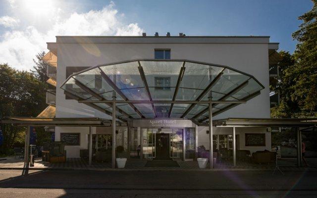 Apart-Hotel Zurich Airport вид на фасад