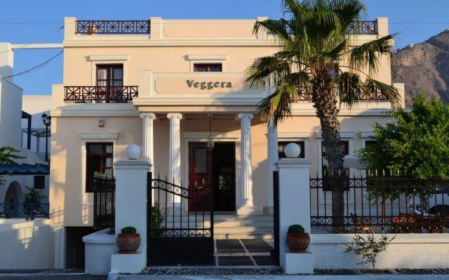Veggera Hotel вид на фасад