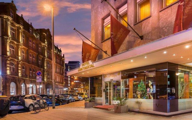 Novum Hotel Continental Frankfurt вид на фасад
