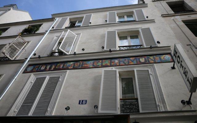Отель Grand Hôtel de Clermont вид на фасад