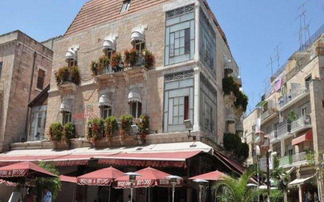 Zion Hotel Иерусалим вид на фасад