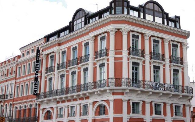 Отель Citiz Hotel Франция, Тулуза - отзывы, цены и фото номеров - забронировать отель Citiz Hotel онлайн вид на фасад