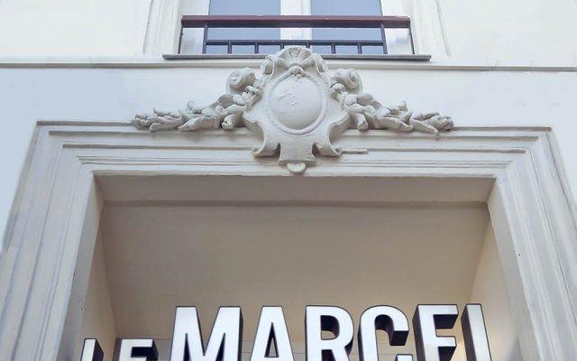 Отель Hôtel Le Marcel - Paris Gare de l'Est вид на фасад