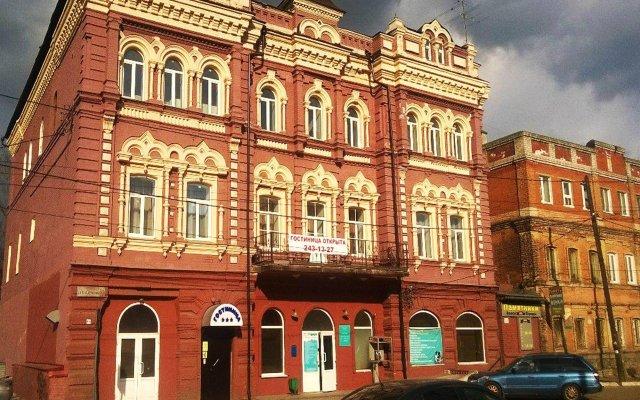 Гостиница Купец в Нижнем Новгороде - забронировать гостиницу Купец, цены и фото номеров Нижний Новгород вид на фасад