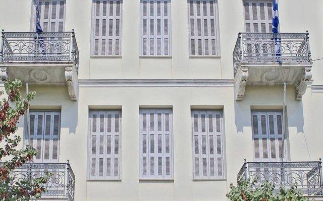 Arion Hotel вид на фасад