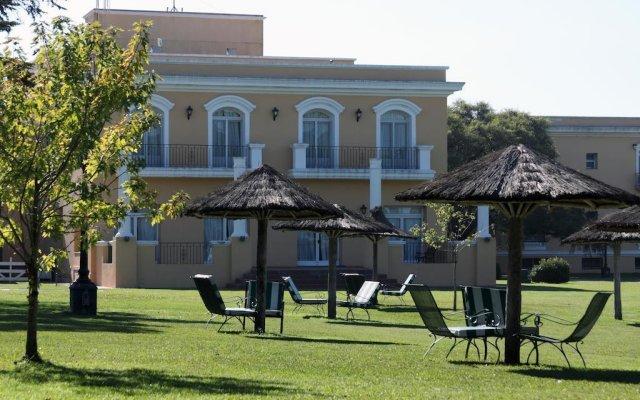 Hotel Colonial San Nicolas Сан-Николас-де-лос-Арройос вид на фасад