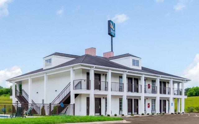 Отель Quality Inn Vicksburg вид на фасад