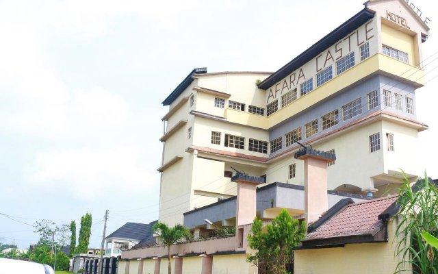 Отель Afara Castle Hotel Нигерия, Калабар - отзывы, цены и фото номеров - забронировать отель Afara Castle Hotel онлайн вид на фасад