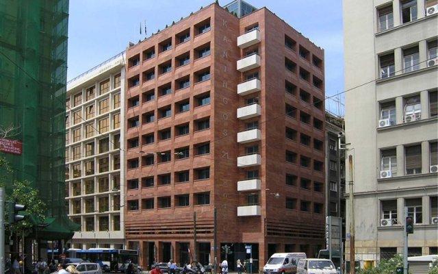 Отель Kaningos 21 Греция, Афины - отзывы, цены и фото номеров - забронировать отель Kaningos 21 онлайн вид на фасад