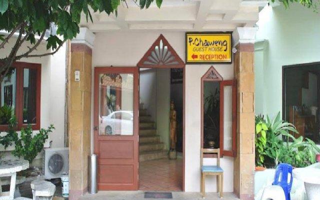 Отель P.Chaweng Guest House Самуи вид на фасад