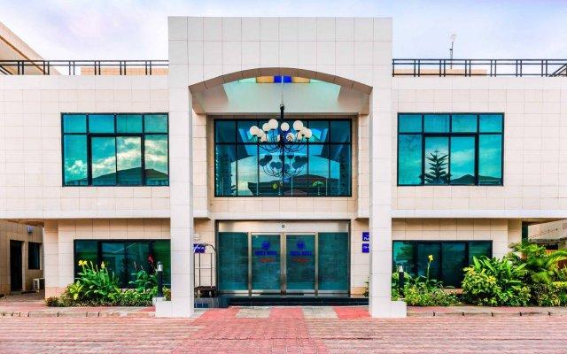 Protea Hotel Kuramo Waters Лагос вид на фасад