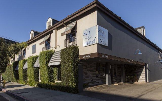 Отель L.A. Sky Boutique Hotel США, Лос-Анджелес - отзывы, цены и фото номеров - забронировать отель L.A. Sky Boutique Hotel онлайн вид на фасад
