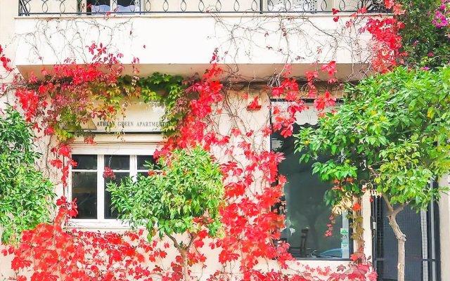 Апартаменты Athens Green Apartments Афины вид на фасад