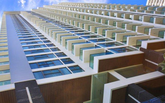 Отель Wong Amat Tower Apt.909 Паттайя вид на фасад