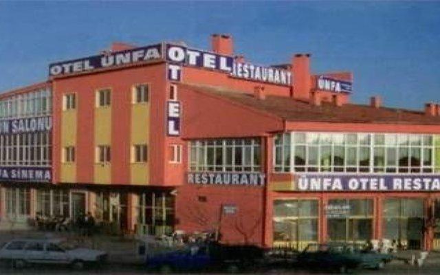 Отель Unfa Otel вид на фасад