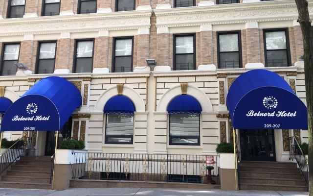 Отель Belnord Hotel США, Нью-Йорк - 10 отзывов об отеле, цены и фото номеров - забронировать отель Belnord Hotel онлайн вид на фасад