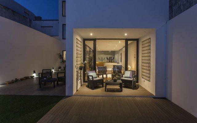 Отель Praia de Santos - Exclusive Guest House Португалия, Понта-Делгада - отзывы, цены и фото номеров - забронировать отель Praia de Santos - Exclusive Guest House онлайн вид на фасад