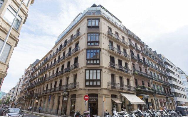 Отель Arrasate - Iberorent Apartments Испания, Сан-Себастьян - отзывы, цены и фото номеров - забронировать отель Arrasate - Iberorent Apartments онлайн вид на фасад