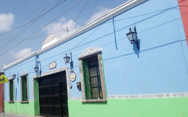 Отель Posada Margaritas вид на фасад