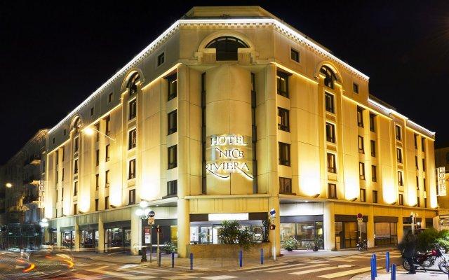 Отель Nice Riviera Ницца вид на фасад