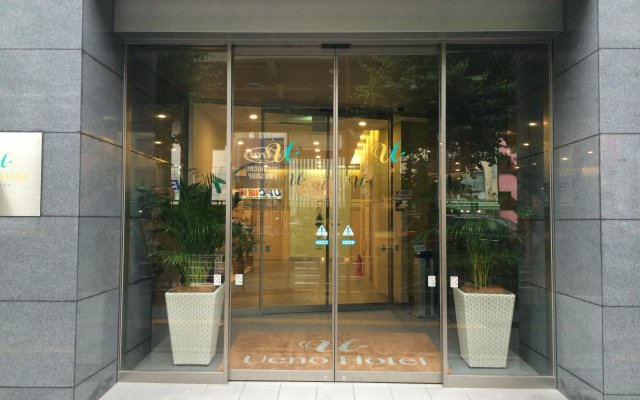 Отель Ueno Hotel Япония, Токио - отзывы, цены и фото номеров - забронировать отель Ueno Hotel онлайн вид на фасад
