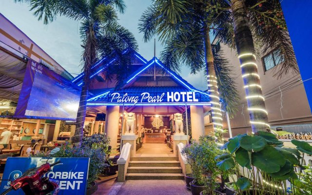 Отель Patong Pearl Resortel вид на фасад