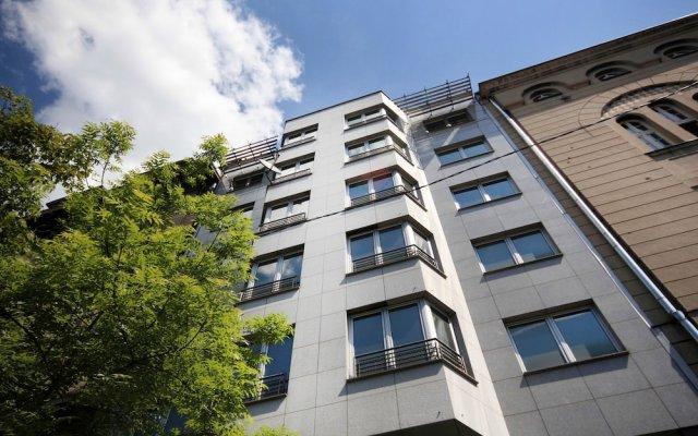 Апартаменты Apartments Belgrade вид на фасад