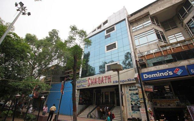Отель Swagath New Delhi Индия, Нью-Дели - отзывы, цены и фото номеров - забронировать отель Swagath New Delhi онлайн вид на фасад