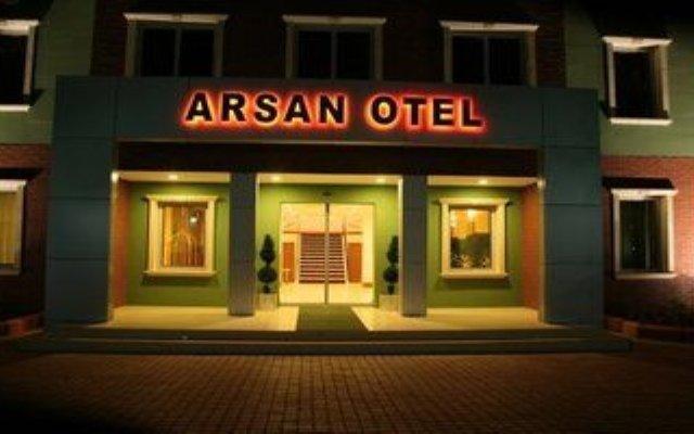 Отель Arsan Otel вид на фасад
