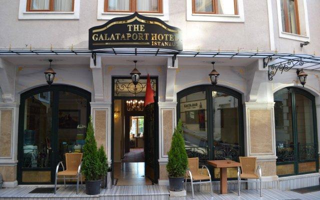 Отель The Galataport вид на фасад