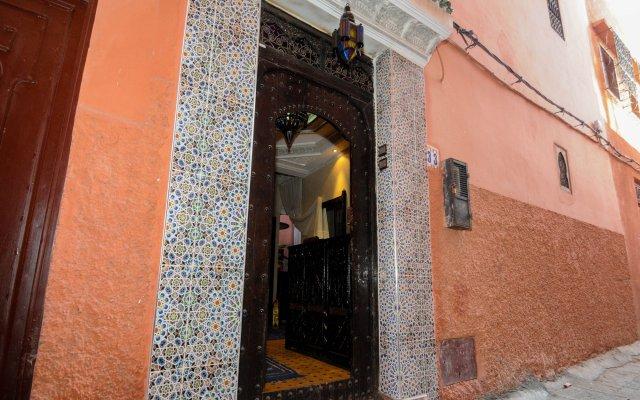 Отель Riad Dari Марокко, Марракеш - отзывы, цены и фото номеров - забронировать отель Riad Dari онлайн вид на фасад