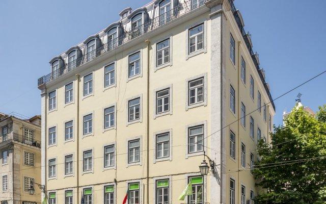 Отель Tesouro da Baixa by Shiadu Португалия, Лиссабон - 1 отзыв об отеле, цены и фото номеров - забронировать отель Tesouro da Baixa by Shiadu онлайн вид на фасад