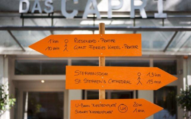 Das Capri. Ihr Wiener Hotel in Vienna, Austria from 160$, photos, reviews - zenhotels.com hotel front