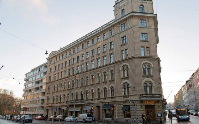 Отель Helsinki Residence Финляндия, Хельсинки - отзывы, цены и фото номеров - забронировать отель Helsinki Residence онлайн вид на фасад