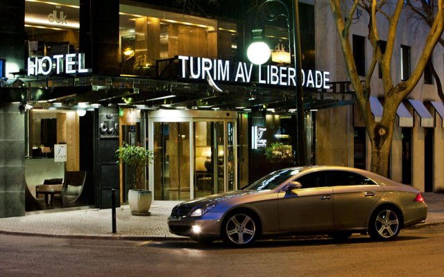 TURIM Av Liberdade Hotel вид на фасад