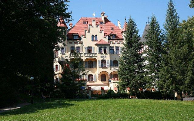 Detox Hotel Villa Ritter вид на фасад