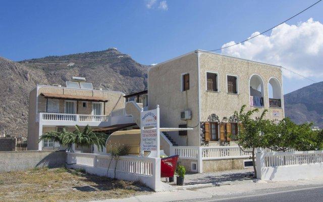 Отель Margarita Studios Греция, Остров Санторини - отзывы, цены и фото номеров - забронировать отель Margarita Studios онлайн вид на фасад