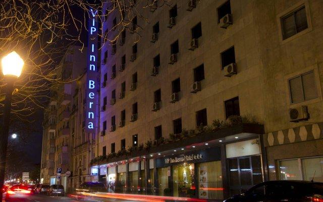 Отель Vip Inn Berna Лиссабон вид на фасад