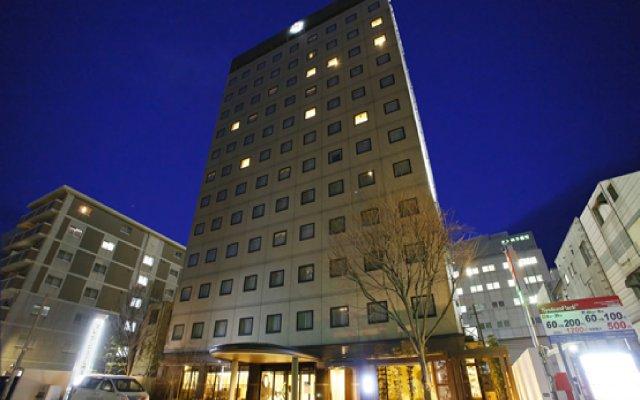 Отель President Hakata Хаката вид на фасад