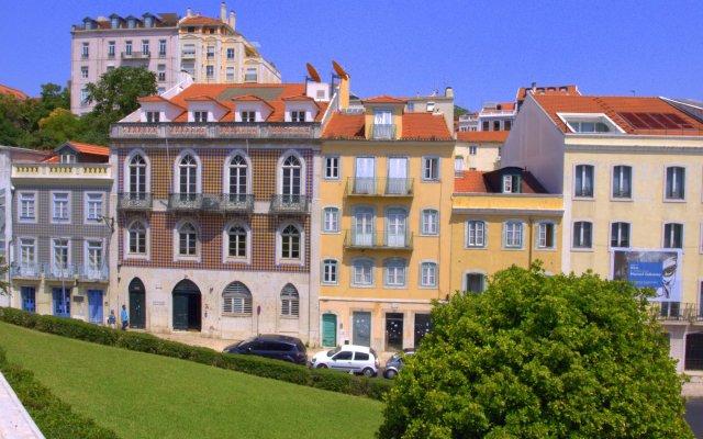 Отель Feeling Lisbon Pessoa Португалия, Лиссабон - отзывы, цены и фото номеров - забронировать отель Feeling Lisbon Pessoa онлайн вид на фасад
