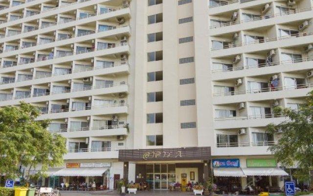 Отель VT 1 Serviced Apartments Таиланд, Паттайя - отзывы, цены и фото номеров - забронировать отель VT 1 Serviced Apartments онлайн вид на фасад